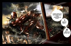 Fanart: Marvel Deadpool by ~Kamyu