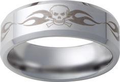 men s skull wedding rings - Mens Skull Wedding Rings
