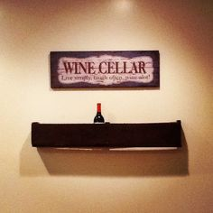 Wine rack from pallet crate! For free!