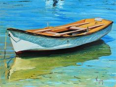 """Daily+Paintworks+-+""""Crystalline+water""""+-+Original+Fine+Art+for+Sale+-+©+Marco+Vazquez"""