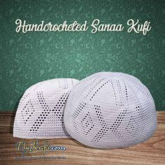 19.99 Handcrocheted Sanaa Style Cotton Open-weave Kufi Hats  prayercaps   thekufi  kufi a0c209f41c4e