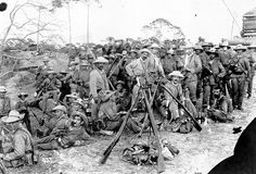 Spanish Army Volunteers in Cuba