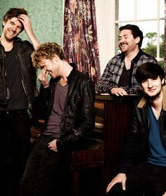 When they laughed during the concert it was just so cute. Kodaline