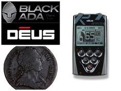 Metal Detecting Pasture Farm Black George III Coin XP Deus #26...