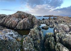 Tide Pools on the Northern Coast of the Isle of Iona Scotland [OC][54583962] http://ift.tt/2hYSRQj