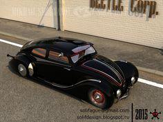 Solifague Design: VW Beetle Custom Black Edition
