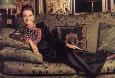 Audrey  Hepburn Maison Givenchy   1991......Uploaded By www.1stand2ndtimearound.etsy.com
