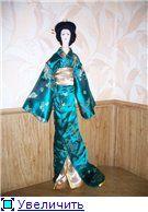 Одеваем наши игрушки - кимоно для тряпиенса