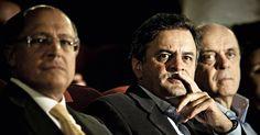 Romero Jucá e o senador Aécio Neves (PSDB-MG) são os mais citados, com cinco inquéritos.