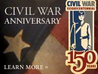 he 150th anniversary of the Civil War is this year, so I thought I would find a great Civil War site to share with you. What I discovered was an awesome site that is focused on the battles of the war, and brings them to you with the latest technology so that you can watch interesting, animated maps!