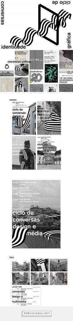 ciclo de conversas design e multimédia on Behance - created via https://pinthemall.net