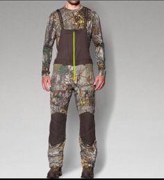991c5972 Under Armour Men's 3xl UA Scent Control Storm 2 Barrier Bib Camo Hunt Pants  for sale online | eBay