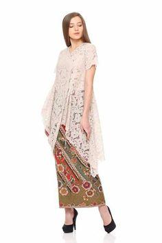 Dress hijab batik beautiful 65 ideas for 2019 Kebaya Lace, Kebaya Dress, Kebaya Hijab, Batik Kebaya, Kebaya Muslim, Cocktail Dresses With Sleeves, Black Dress With Sleeves, Trendy Dresses, Casual Dresses