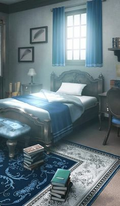 IkemenRevolution This looks very much like a ravenclaw bedroom Book Cover Background, Wattpad Background, Scenery Background, Fantasy Background, Living Room Background, Episode Interactive Backgrounds, Episode Backgrounds, Anime Backgrounds Wallpapers, Anime Scenery Wallpaper