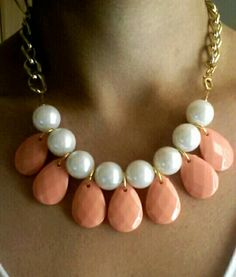 White Pearl,coral teardrops
