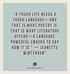 "Jeanette Winterson"""