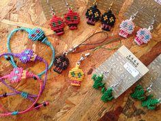 Macrame Earrings, Macrame Bracelets, Crochet Necklace, Paracord, Skull, Jewelry, Drawings, Knots, Rings