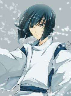 """""""Spirited Away.""""  Haku very well may be the only spirit in the movie that doesn't make me uneasy."""