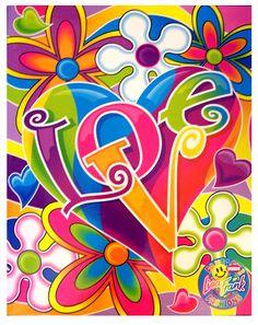 ✪☯☮ॐ American Hippie Psychedelic Art - Lisa Frank Hippie Peace, Happy Hippie, Peace Love Happiness, Peace And Love, Hippie Style, Hippie Chick, Graffiti Kunst, Pop Art, Arte Van Gogh