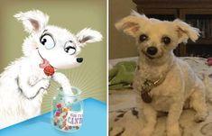 Esses bichinhos foram desenhados conforme suas personalidades - apreguica.com