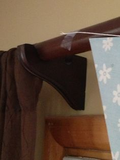 Inexpensive DIY Curtain Rod | from My Blissful Space