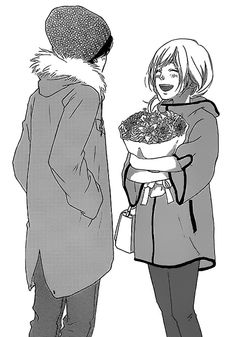 manga, ao haru ride, and futaba image Futaba Y Kou, Futaba Yoshioka, Danshi Koukousei No Nichijou, Hirunaka No Ryuusei, Manga Anime, Anime Art, Manga Love, Anime Love, Miraculous