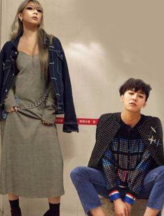 [fanart] #Skydragon #CL #Gdragon #2ne1 #Bigbang Gd And Cl, Hyuna Red, Rapper, Lee Chaerin, Cl 2ne1, Gd Bigbang, Jiyong, G Dragon, Kpop Fashion