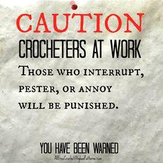 Indeed, I have been warned ha ha
