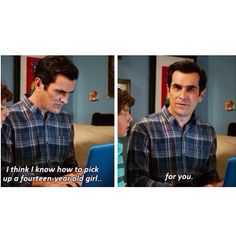 Phil  Modern family  Funny quotes