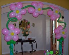 My Girly Birthday Balloon Arch