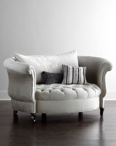 Harlow Cuddle Chair - Chairs - by Horchow