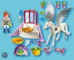 bol.com | Playmobil Pegasuspaard met Kaptafel - 5144,Playmobil | Speelgoed