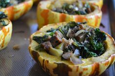 Stuffed Acorn Squash | Dana's Edible Affair.