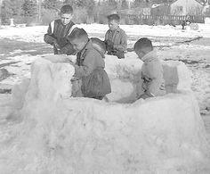 Making Snowforts
