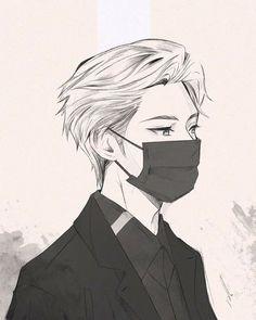 Dark Anime Guys, Cool Anime Guys, Handsome Anime Guys, Cute Anime Boy, Anime Boys, Anime White Hair Boy, Anime Couples Manga, Anime Boy Sketch, Anime Drawings Sketches