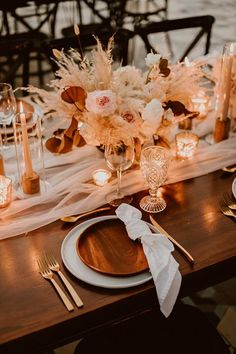 Autumn Wedding, Boho Wedding, Wedding Table, Floral Wedding, Wedding Colors, Wedding Flowers, Dream Wedding, Wedding Day, Wedding Centerpieces
