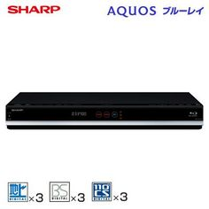 SHARP AQUOS ブルーレイディスクレコーダー 1TB トリプルチューナー BD-T1700