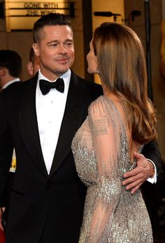 Brad Pitt & Angelina Jolie Oscars 2014