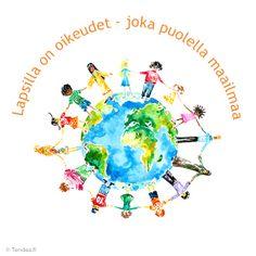 On the 20th of November is the international day of children's rights // 20.11. vietetään kansainvälistä lapsen oikeuksien päivää Child Day, School, Children, Quotes, Young Children, Quotations, Boys, Kids, Quote
