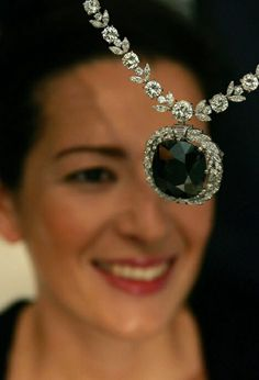 """The """"Black Orlov"""" Diamond has got an unusual steel-gray color and its appearance still remains a mystery. One legend says that this jewel, derived from the Hindu temple, India was responsible for the death of two Russian princesses. It is believed that this was once a diamond """"The Eye of Brahma"""" (it weighs 195 carats), which was inserted into the statue in Pondicherry. Others believe that the Russian diamond belonged to Princess Nadezhda Orlova but the princess of that name never existed."""