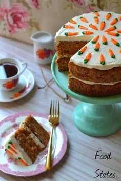 Φανταστικό κέικ καρότου με γλάσο κρέμας τυριού!