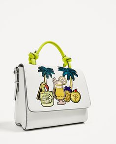 Image 3 of TROPICAL CITY BAG from Zara
