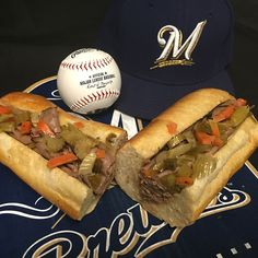 An Italian Beef Sandwich is the special when the Cubs come to town! #Brewers