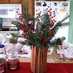 Aromatické nápady zdobení skořice na Vánoce