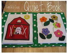 my mom made one of these!  I have it and some patterns to go with it to make more pages.  I loved this book when I was a kid!