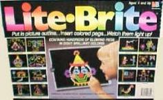Lite Bright! I miss these!