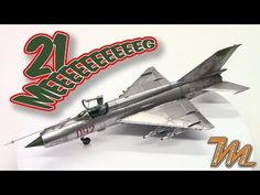 1/72 Mig-21 MF - Eduard - scale model step by step build - YouTube