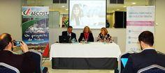 ALMUÑÉCAR. Una nueva edición de los 'Desayunos de Negocios' de AECOST, ha sido presidida por la alcaldesa de Almuñécar, para informar a los empresarios sexitanos del