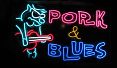 BBQ Neon Signs | SERIES OF NEON SIGNS MADE FOR A GREAT HANOVER,NH BBQ RESTAURANT ...