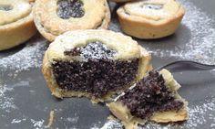 Křehké makové koláčky